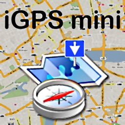 GPS mini Navigation: Mark your Locations, Geocaches, Road Trips