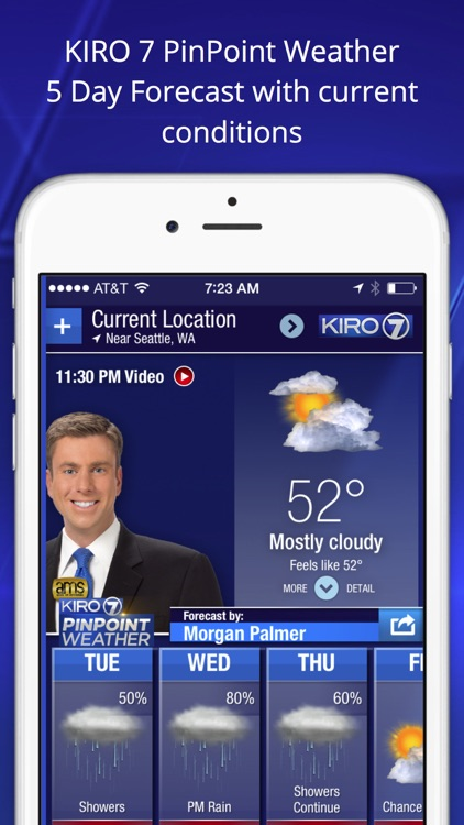 KIRO 7 Weather - Seattle-area alerts, forecasts