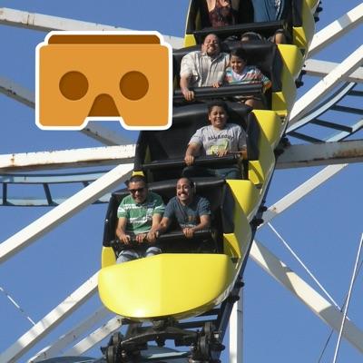 Virtual Reality Roller Coaster for Google Cardboard VR ios app