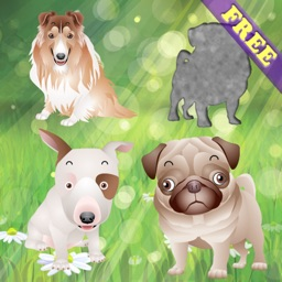 Puppy Dog Puzzles for Toddlers and Kids -  FREE