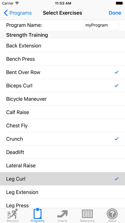 Workout Training Tracker & Fitness Log