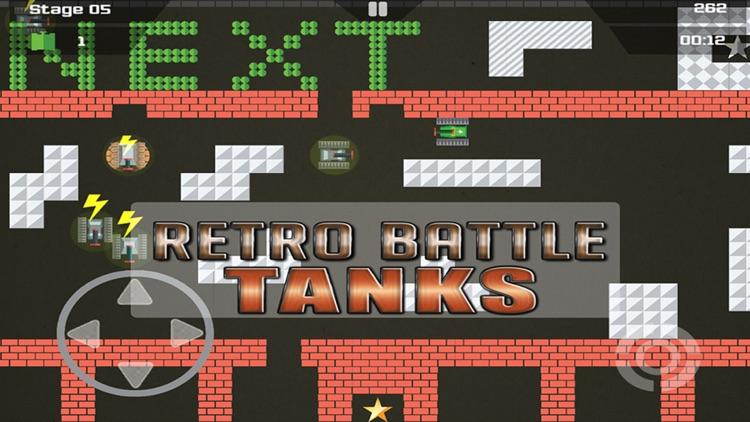Retro Battle Tanks screenshot-3