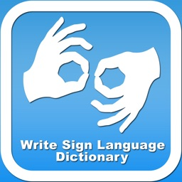 Write Sign Language Dictionary - Offline AmericanSign Language
