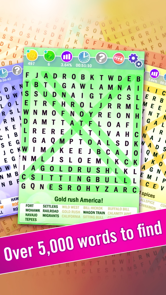 Word Search : World's Biggest Wordsearch Puzzle! Screenshot