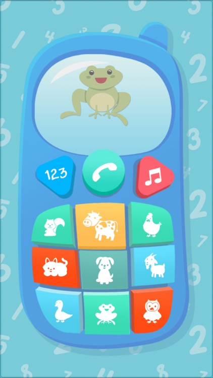 Baby Phone - ABC 123 Songs Nursery Rhymes screenshot-4