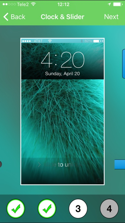 Lockscreen plus - Pimp your lock screen and backgrounds app image