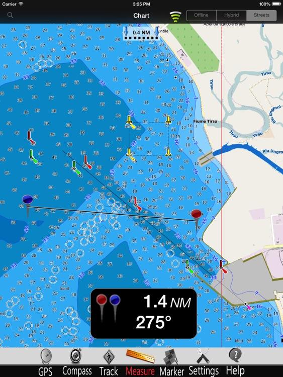 Sardinia Nautical Charts Pro screenshot-3