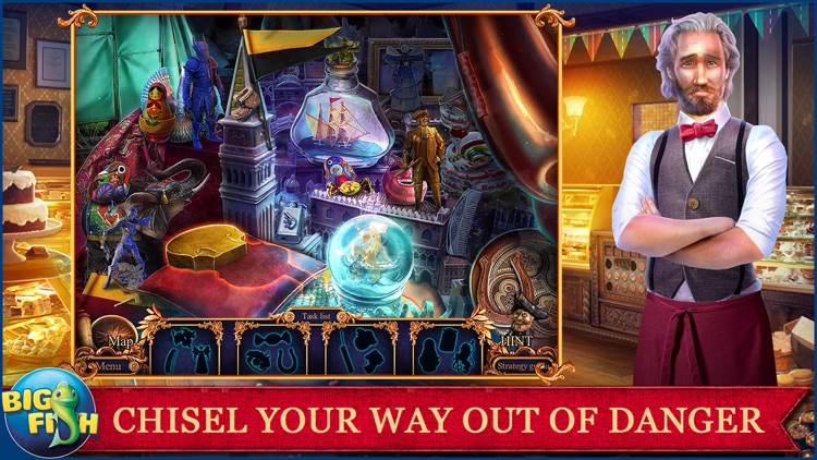 Royal Detective: Legend of The Golem - A Hidden Object Adventure (Full) screenshot-1