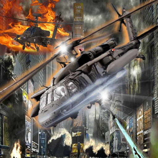 A Gunship Helicopter - Simulator Copter Game