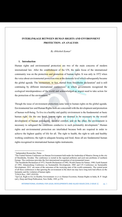 International Journal of Legal Developments And Allied Issues screenshot three