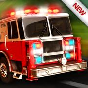 119 消防卡车模拟器 3D - 消防员值班