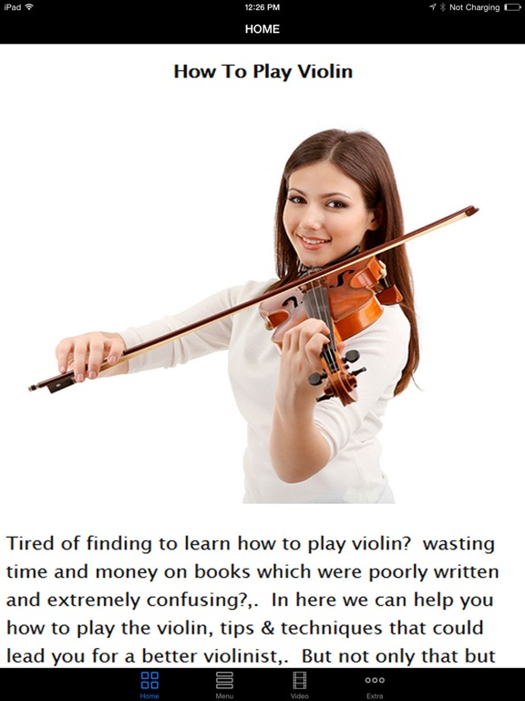 Easy Play Violin Instructional Videos - Best Beginner's Guide To Learn The  Basic To Advance, Start Today | App Price Drops