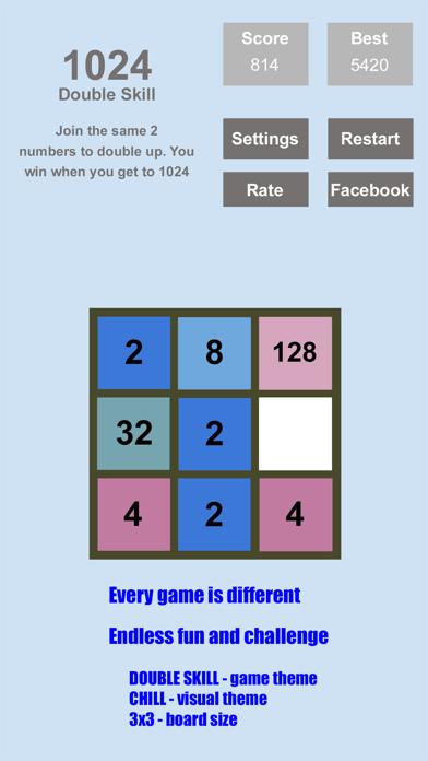 Tri-Sum 2048 - Fun & Cool Math Puzzle Addition Games including Fibonacci Numbers screenshot three