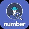 Number   Numara Sorgula & Gizli arkadaşlarını bul, Facebook için - iPhoneアプリ