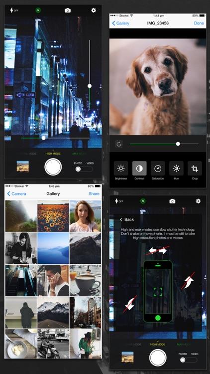 Night Mode Camera (Photo & Video) screenshot-4