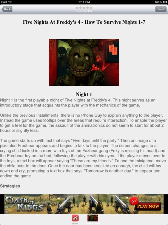 Guide For FNAF 4 HD by samuel eleyinte