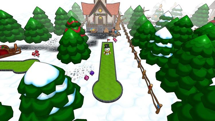 Mini Golf Christmas screenshot-3
