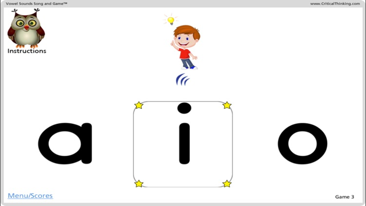 Vowel Sounds Song and Game™ screenshot-3