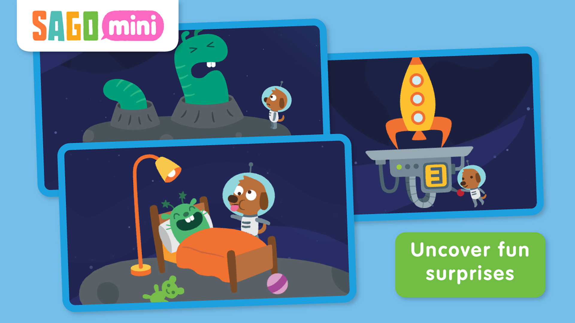 Sago Mini Space Explorer TV screenshot 3