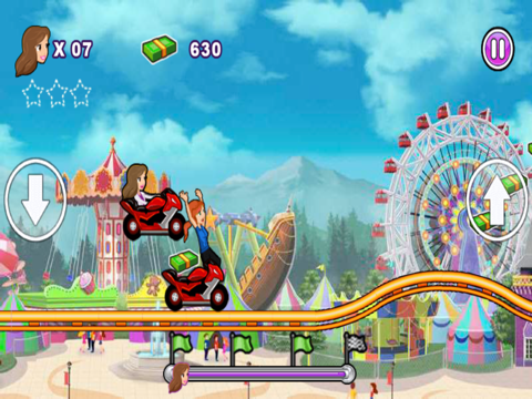 Crazy Roller Coaster Gameのおすすめ画像4