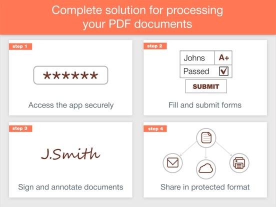Screenshot #1 for PDF Forms