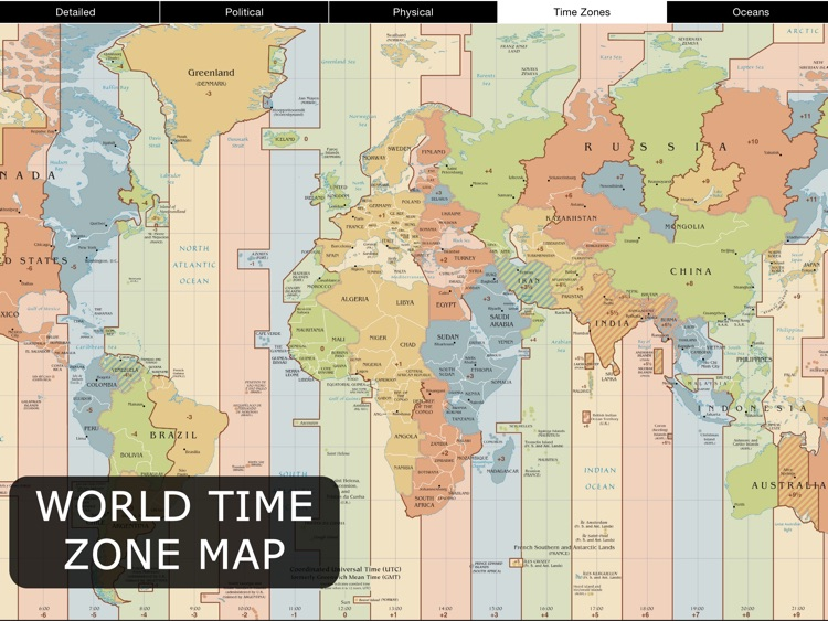 World Map for iPad screenshot-3