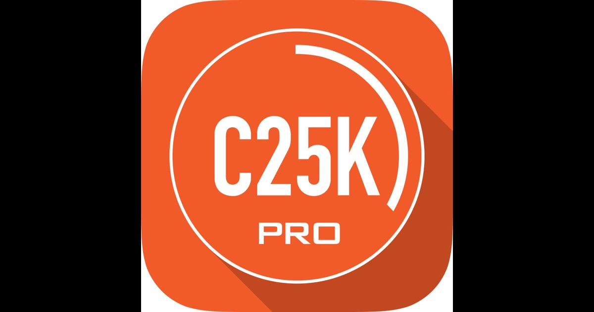 c25k 5k trainer pro couch potato to running 5k on the app store. Black Bedroom Furniture Sets. Home Design Ideas