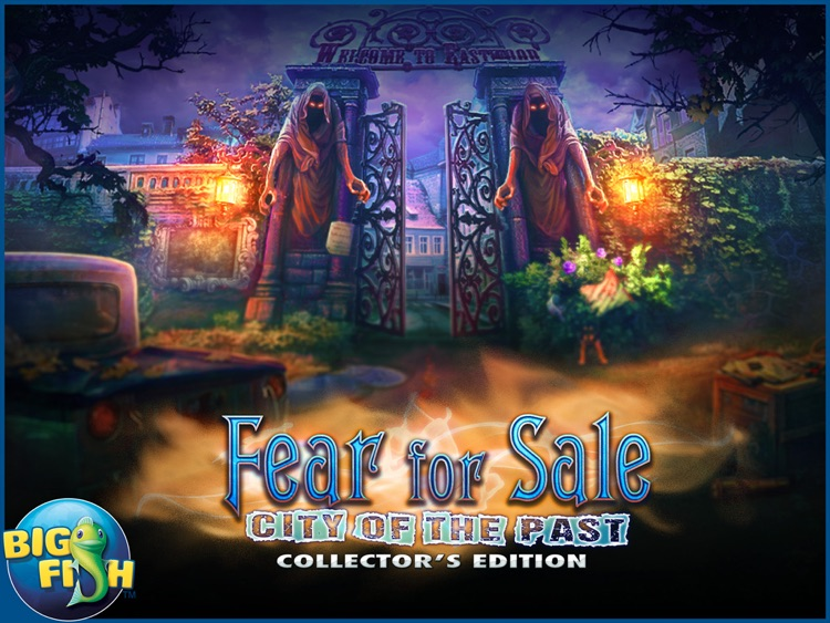 Fear for Sale: City of the Past HD - A Hidden Object Mystery screenshot-4