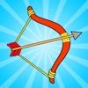射箭达人 : 射箭游戏, 射箭,弓箭射箭射击游戏