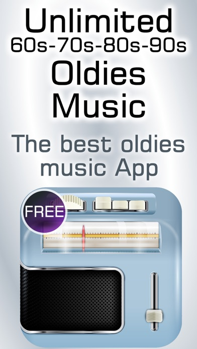Screenshot 1 For 60s 70s 80s Retro Music Radio Classic Country Rock Songs From