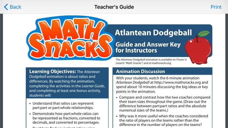 Math Snacks Video screenshot-3