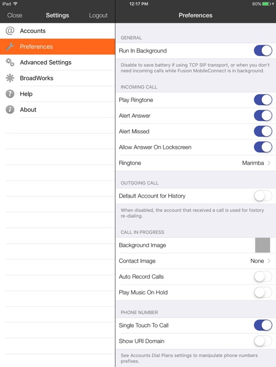 Fusion MobileConnect for iPad screenshot-4