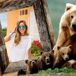 Animal Photo Frames - Creative Frames for your photo