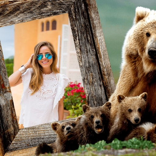 Animal Photo Frames - Creative Frames for your photo iOS App