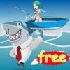 子供の教育ゲームのためのサメ釣りゲームや海の動物
