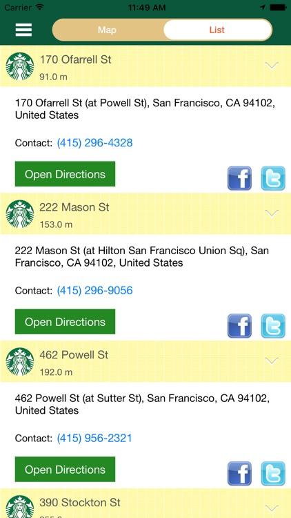 Best Secret Menu for Starbucks & Store Locator screenshot-3