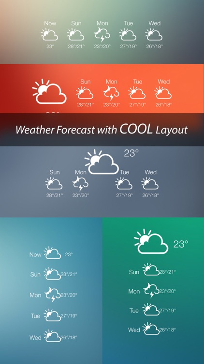 Weather Lock Screen - Customize your Lock Screen Backgrounds with Weather Forecast screenshot-3