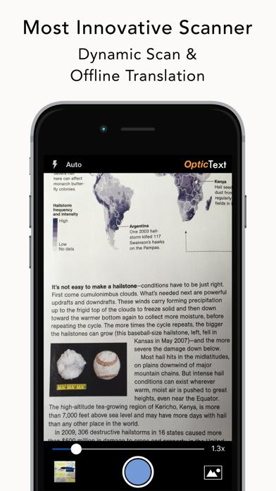 OpticText:文字認識 + オフライン翻訳のおすすめ画像1