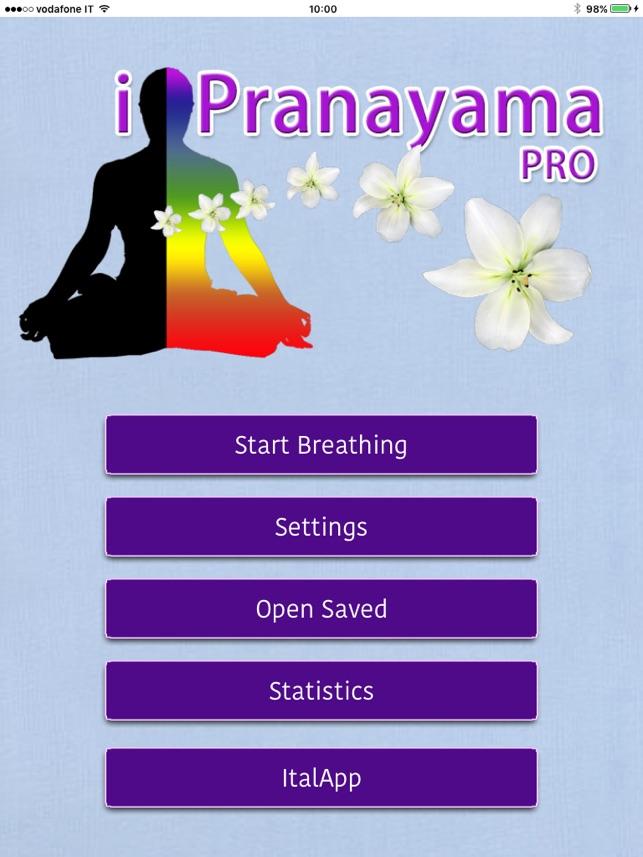 i Pranayama Pro - hướng dẫn của bạn cho các bài tập thở của bạn