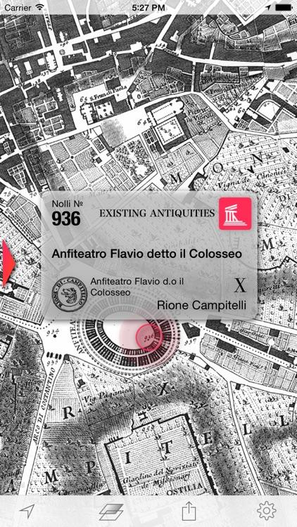 Nolli - Navigate 18th century Rome