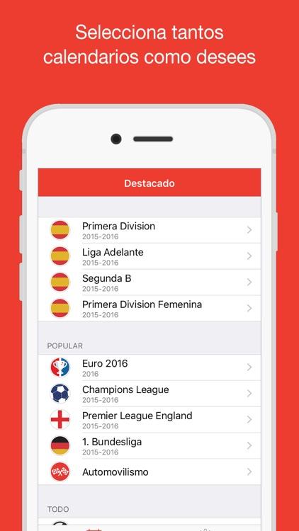 La Liga Calendario - Horario de partidos y resultados en directo en tu calendario (FútbolCal)