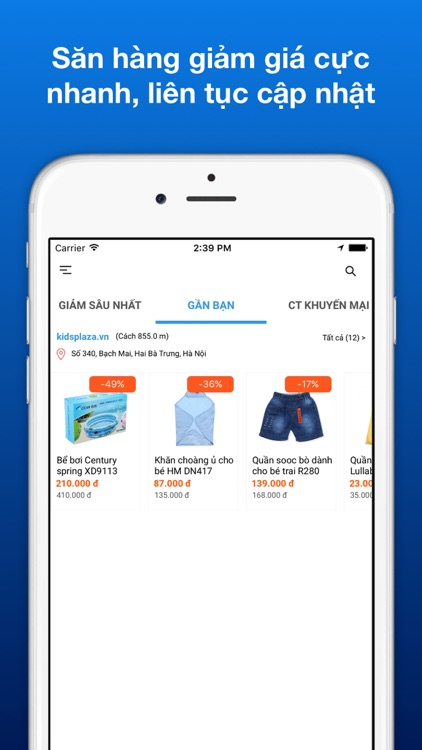 TingTing - Săn hàng giảm giá, mã khuyến mại ưu đãi