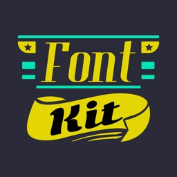 Fontkit - Typography Generator, Cool Fonts and Creative Photo Designer