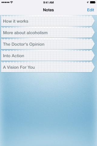 12 Steps Companion screenshot 4