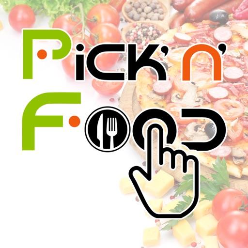 Pick'n'food app logo
