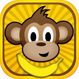 Monkey Jump - Banana Jungle
