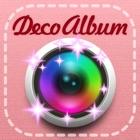 DecoAlbum, Japanese purikura style photo collage diary app icon