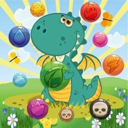 Dragon Pop Bubble Shooter Mania : Match 3 Pro Hd Free Game