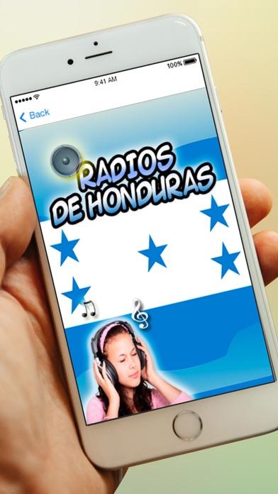 Radios de Honduras y Emisoras Gratis AM FM screenshot one