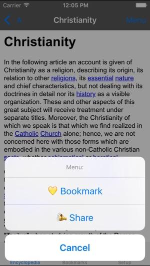 Catholic Encyclopedia Offline Lite on the App Store